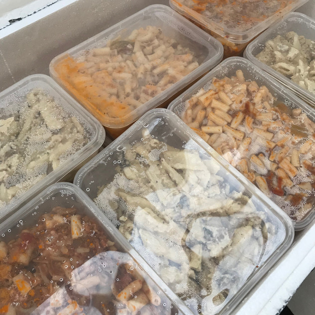Leftover food to be distributed out