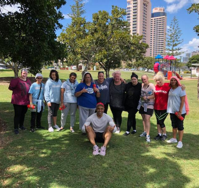 First fitness in the park