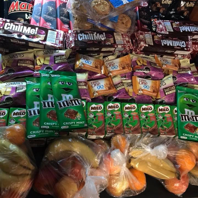 Food Bank purchases