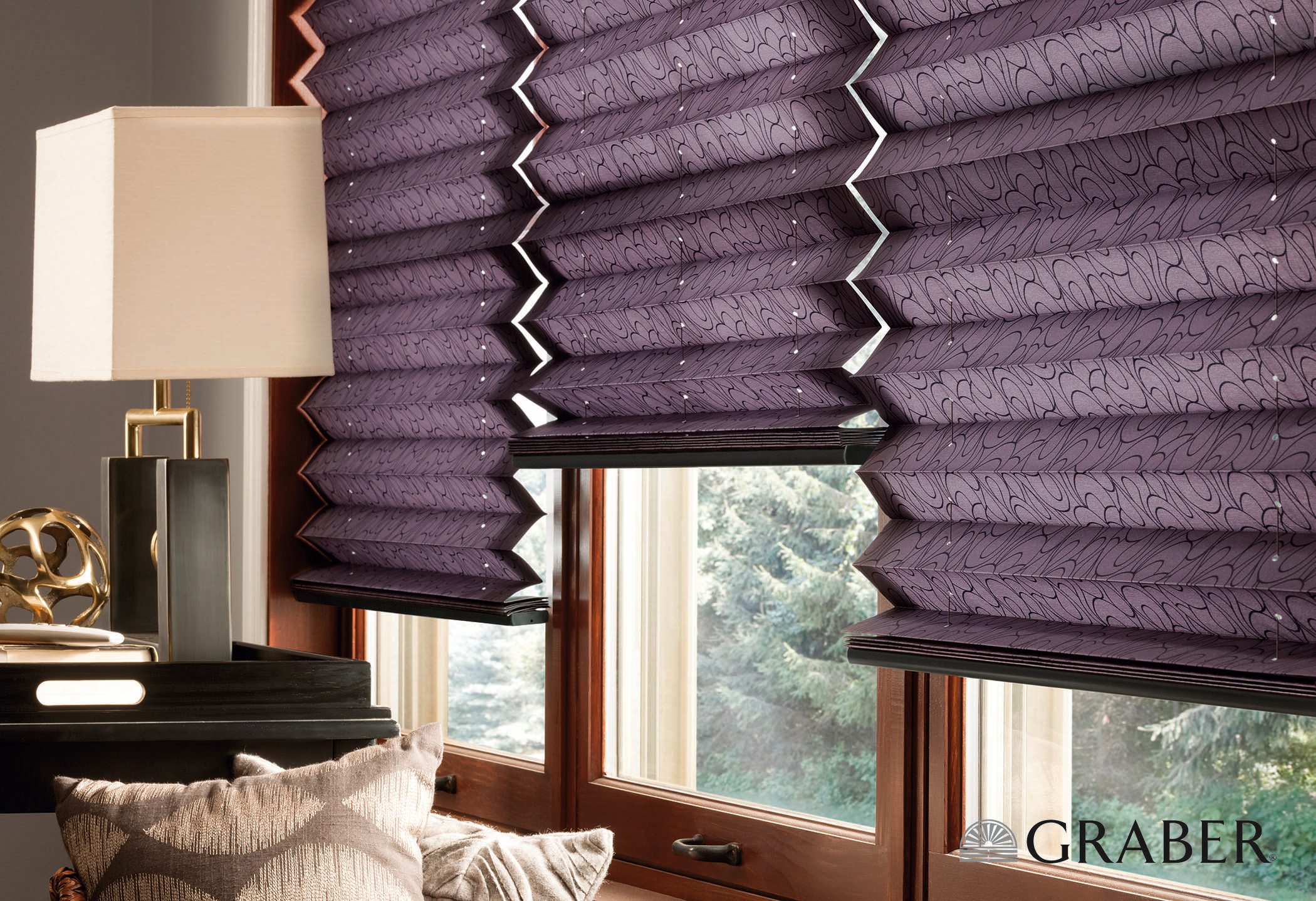 Graber - Pleated Shades