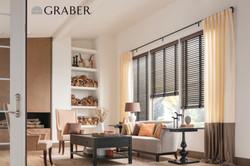 Graber Wood Shades + Drapes