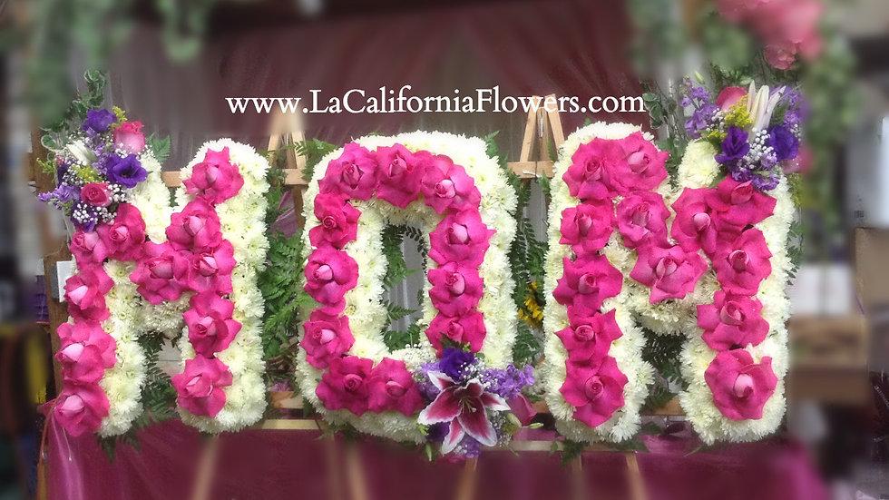 Mom I love you simpathy flowers