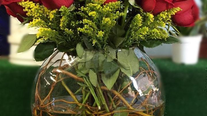 Secret Roses Flat Fishbowl