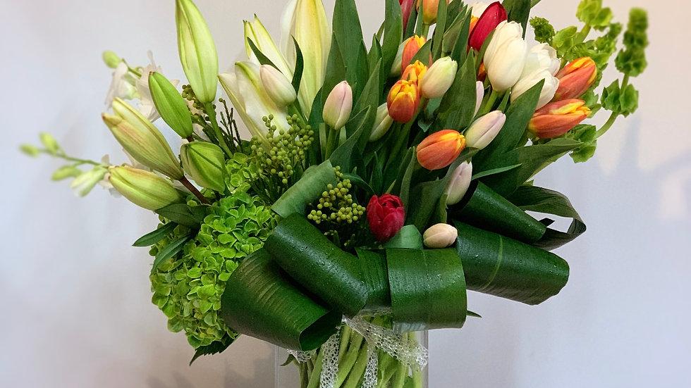 Happiness- tulips