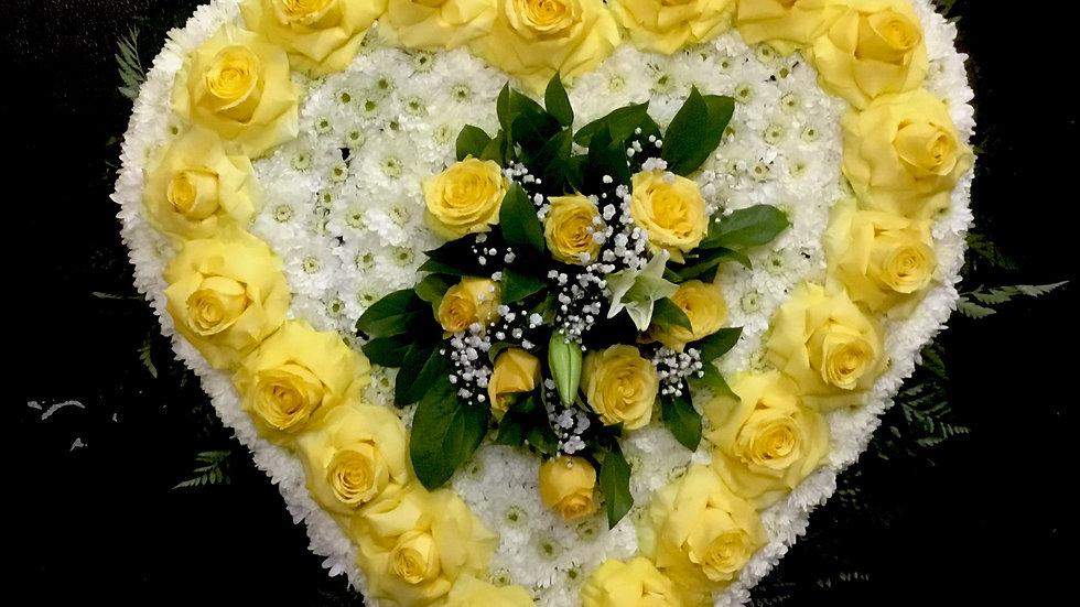 Full Yellow Heart