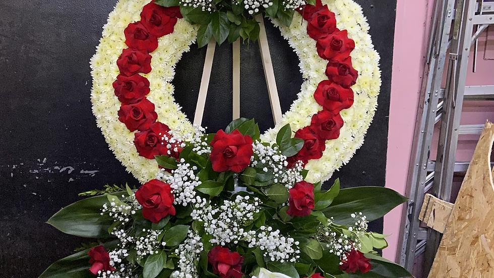 Korean style wreath