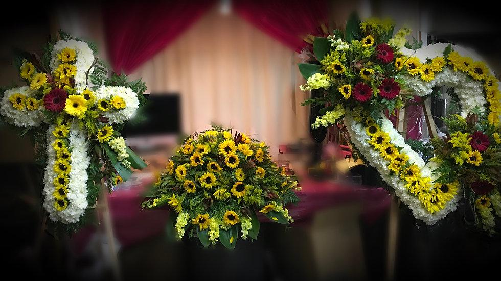 3 pcs Set - Sun Flowers