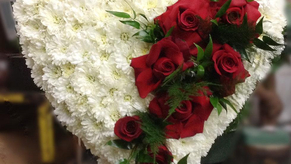Broken Heart Sympathy Flowers