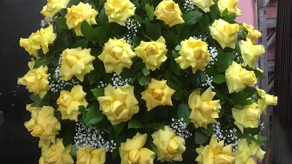 Giant Rose Arrangement