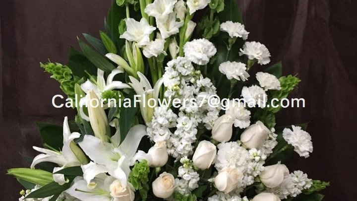 White Roses and Lillies
