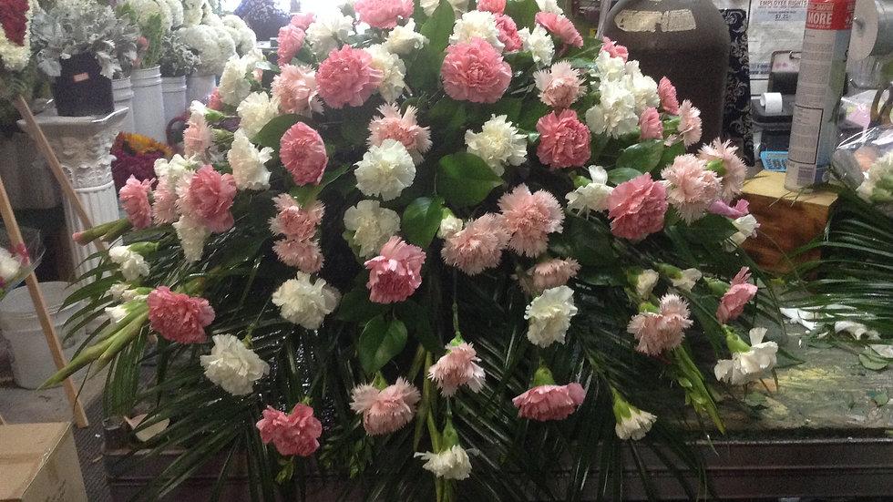 Pink Carnation Caskets