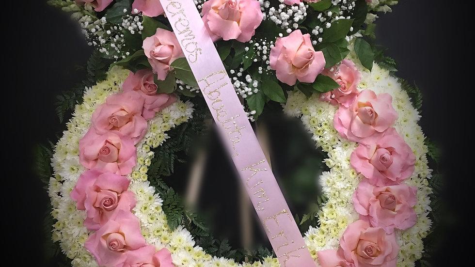 Hermosa Pink Wreath