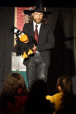 Avec Edgard le Corbeau...
