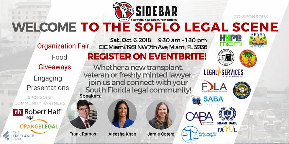 Welcome to the SoFlo Legal Scene