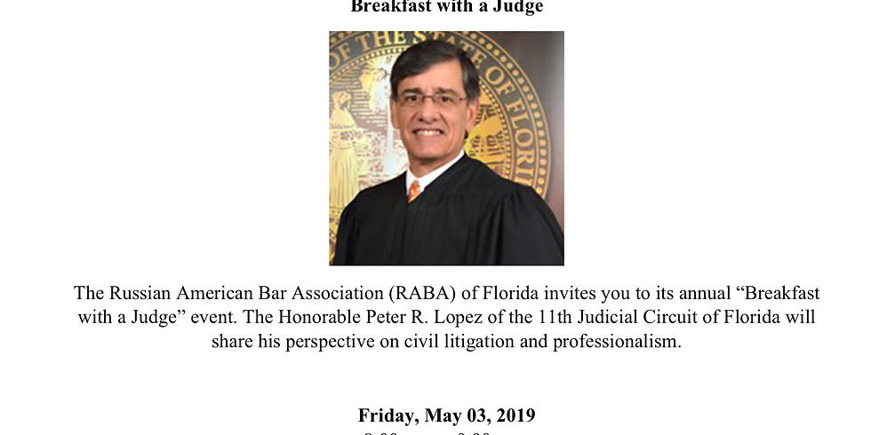 Breakfast with a Judge