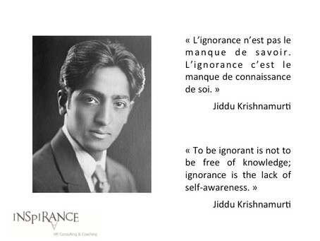 Connaissance de soi - Self-awareness