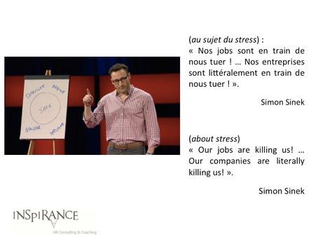 Le stress nous tue - Stress is killing us