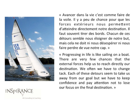 Garder le cap ! - Keep focus on the route!