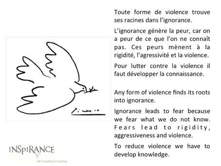 Ignorance & violence