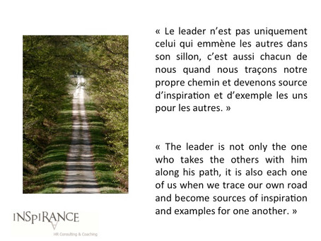 Nous sommes tous des leaders - We are all leaders
