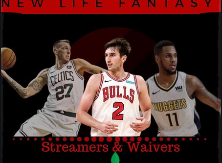 Fantasy Basketball Waivers and Streamers Week 14