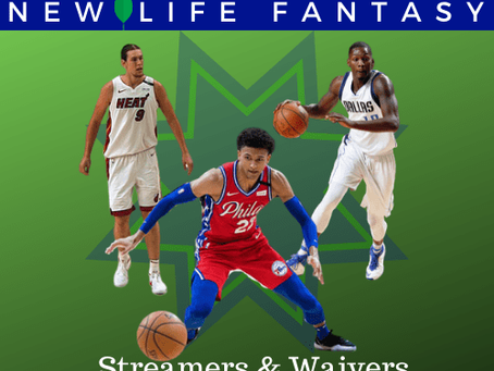 Fantasy Basketball Waivers and Streamers Week 17