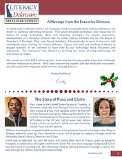 Literacy Delaware December 2020 Newslett