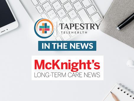 McKnights: Telemedicine shown to help cut hospitalizations, costs