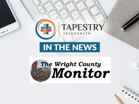 Tapestry Telehealth in the news for partnership with ABCM Corp. in rural Iowa