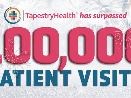 TapestryHealth Surpasses 100,000 Patient Visits