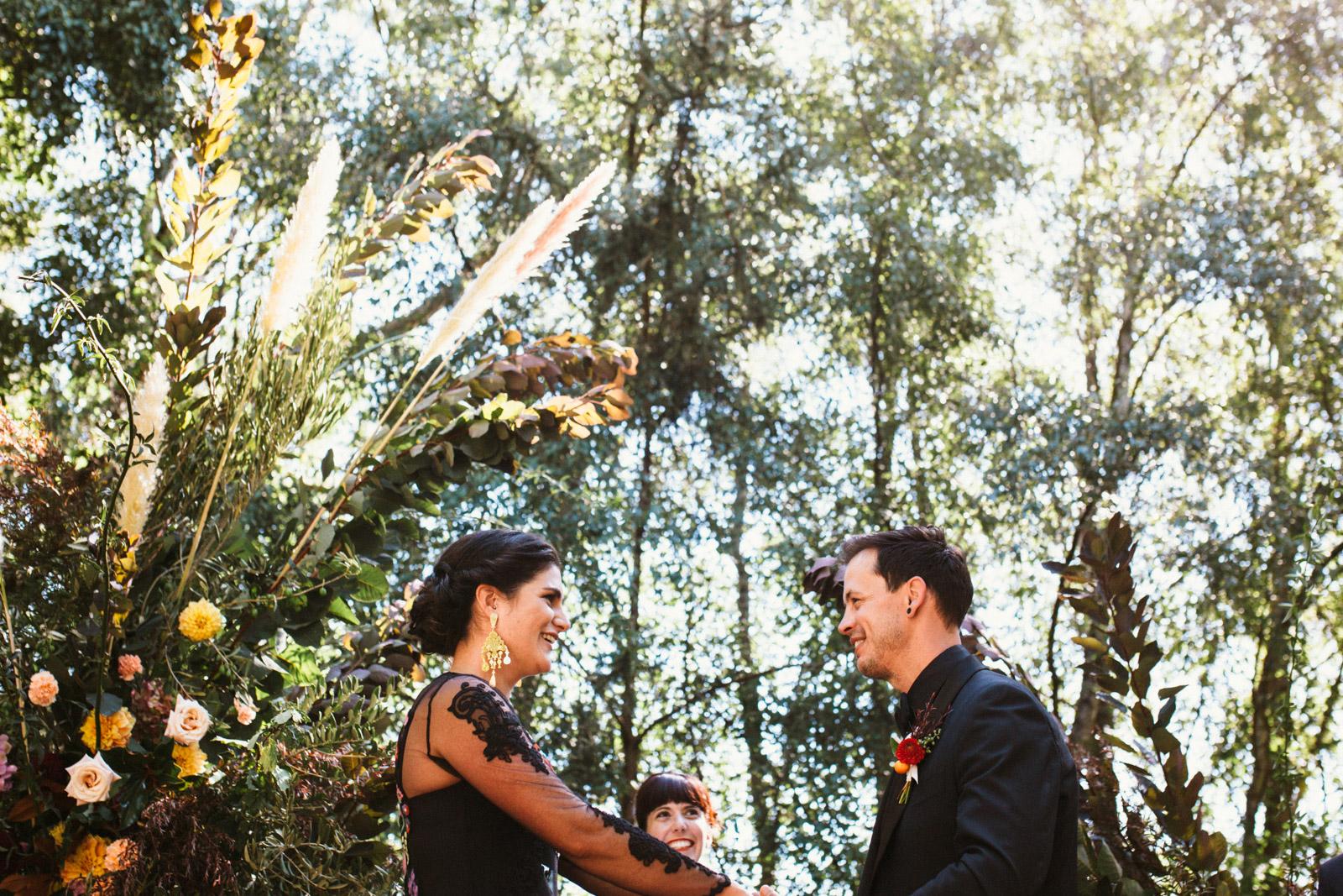 Zara & Danny's Daylesford wedding