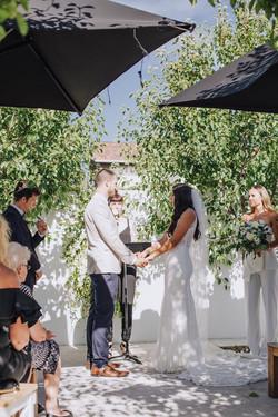 Ash and Jake's Thornbury wedding
