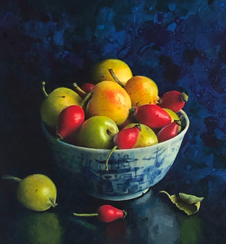ROSEHIPS AND CRABAPPLES