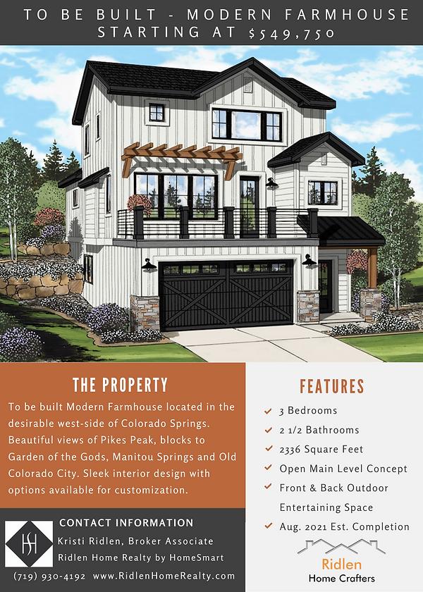 Modern Farm House Marketing Flyer 1 Page