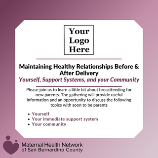 Flyer 2 - Healthy Relationships