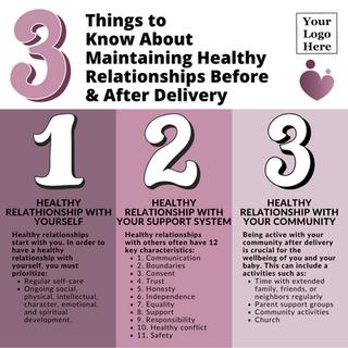Factsheet - Healthy Relationships