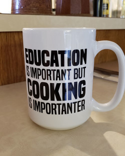 COOKING IS IMPORTANTER