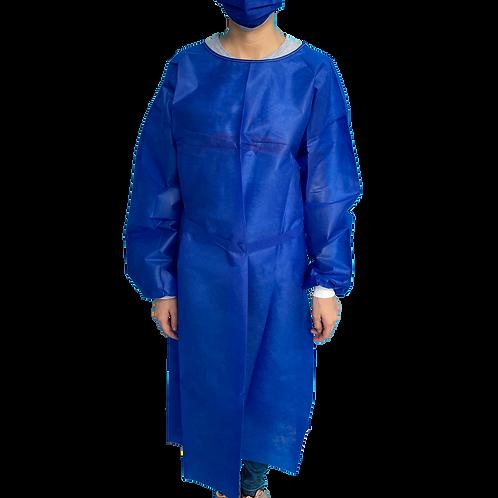 Bata desechable TNT Azul.