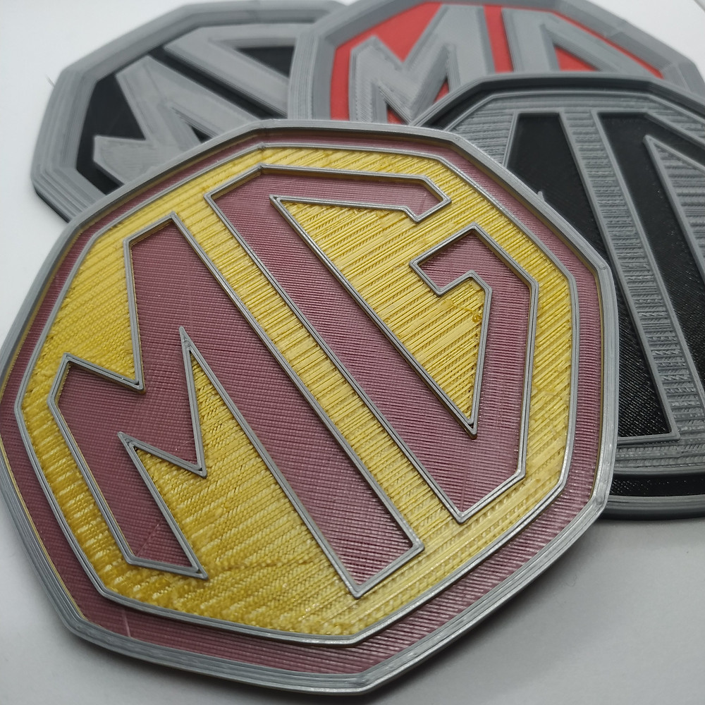 Set of MG Coasters, MGZ MGF MGB MG SAIC
