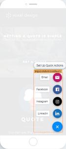 Quick Access bar voxel design