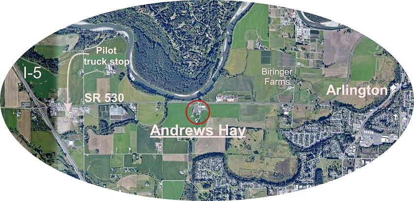 map to Andrews Hay