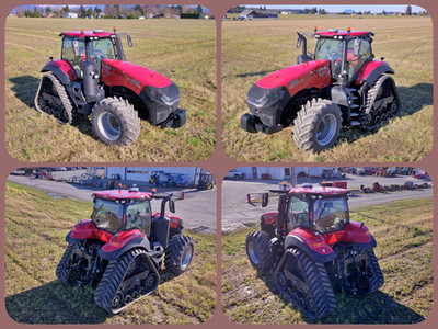 Case 380 tractor