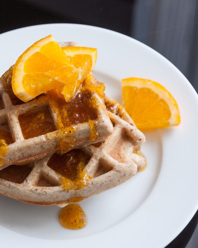 Mandľové waffle
