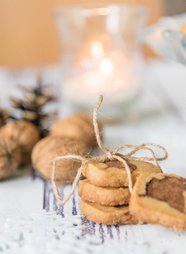 Sušienky s ochuteným trstinovým cukrom