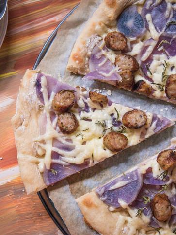 Pizza so zemiakmi
