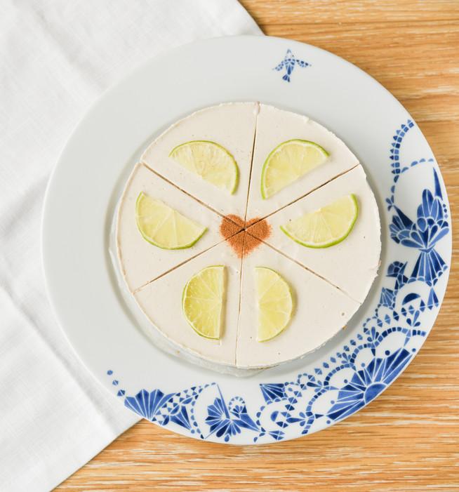 """Druhý sladký recept bez pridaného cukru: Limetkový """"cheesecake"""""""