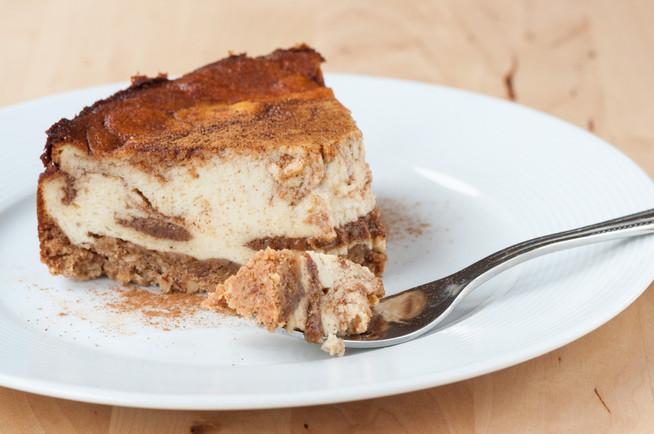 Škoricový cheesecake