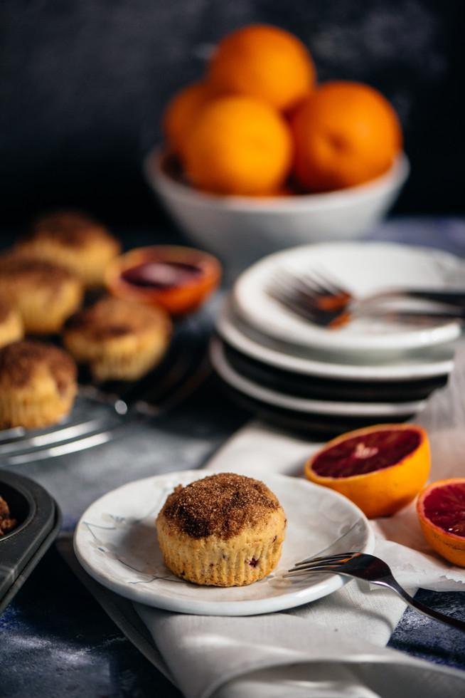 Voňavé muffiny s pomarančom