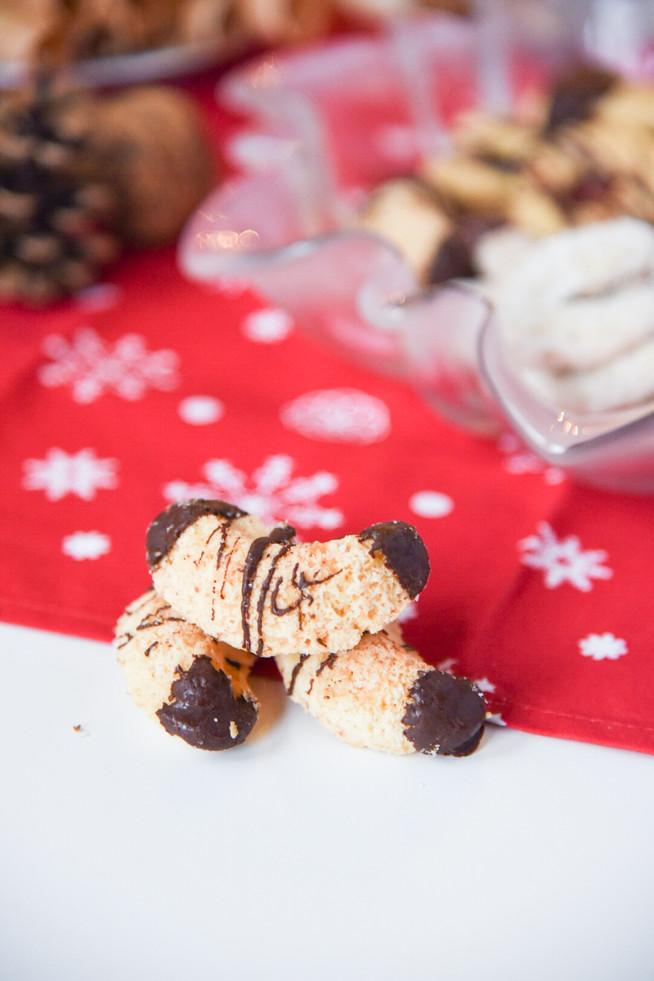 Kokosové fúkané rožteky