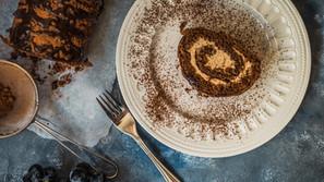 Kakaová roláda s perníkovým krémom
